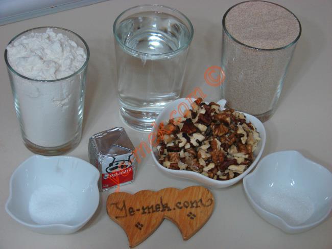 Ev Yapımı Kepek Ekmeği Malzemeleri