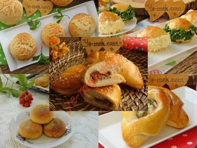 Peynirli Poğaça Tarifleri