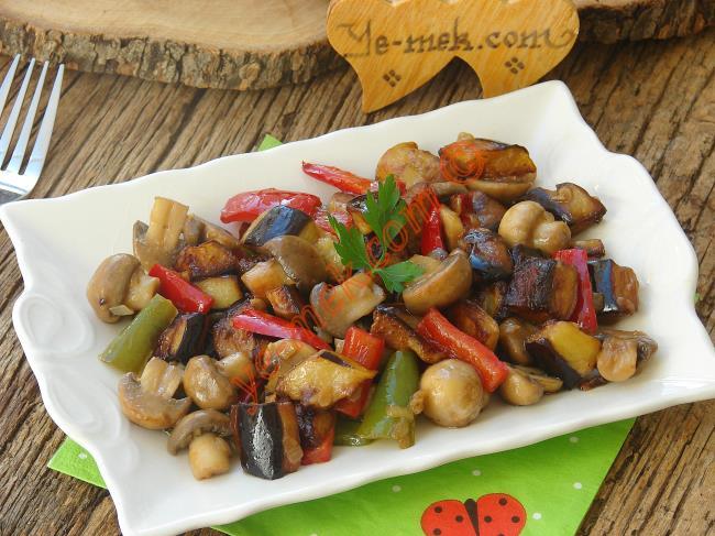 Resimli Fırında Patlıcan Kebabı