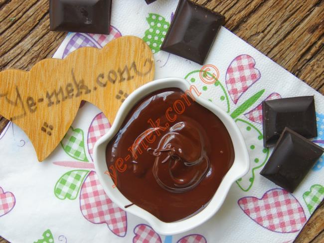Benmari Usulü Çikolata Erimiyor