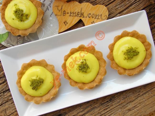 Limon Kremalı Mini Tartolet