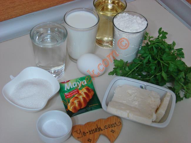 Peynirli Yonca Poğaça Malzemeleri