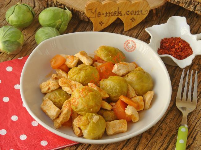 Brüksel Lahanası Salatası Tarifleri