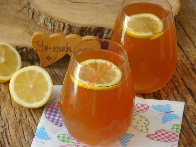Bu Tarifi Sürekli Yapacaksınız : Soğuk Çay (Ice Tea)