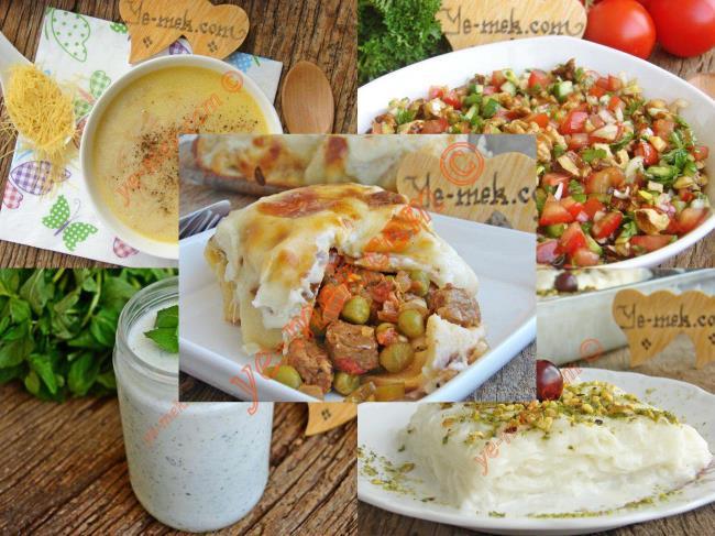 İftar Menüsü (Ramazan 1. Gün) | En Kaliteli Yemek Tarifleri Sitesi