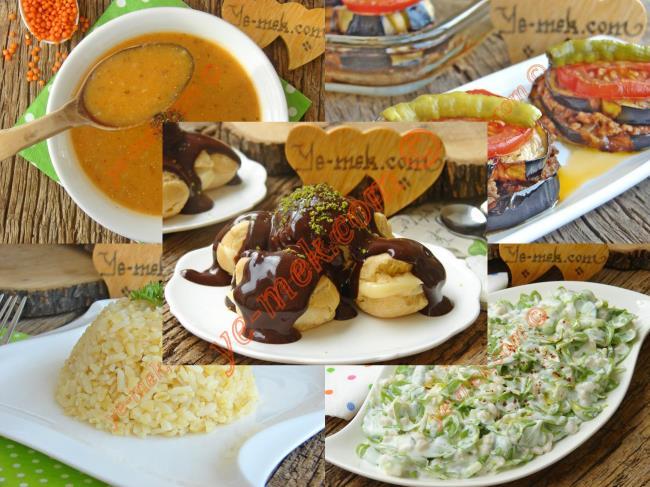 İftar Menüsü (Ramazan 23. Gün)