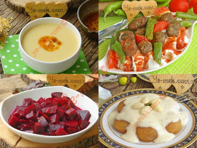 İftar Menüsü (Ramazan 9. Gün)