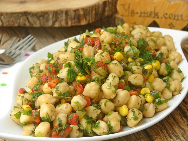 Nohut Salatası Tarifi, Nasıl Yapılır? (Resimli) | Yemek Tarifleri