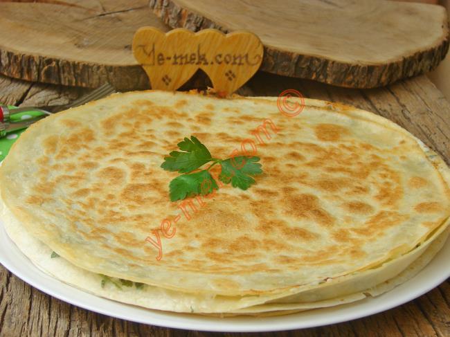 5 Dakika da Hazır, Nefis Bir Börek : Tavada Lavaş Böreği