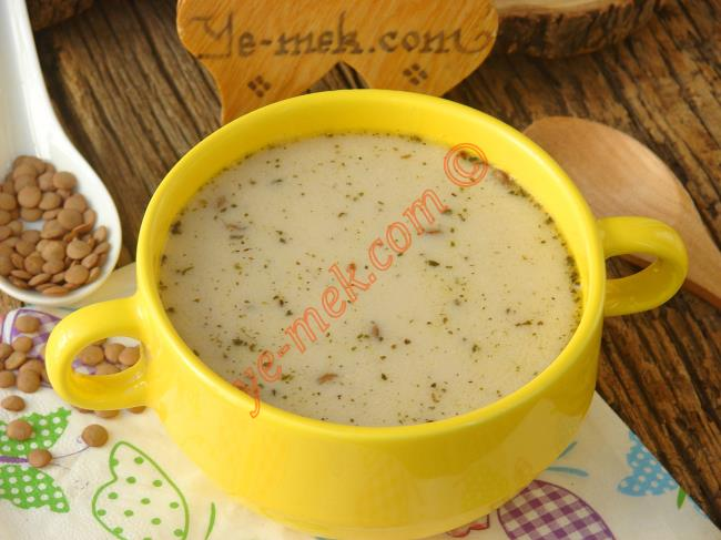 Yoğurtlu Mercimek Çorbası