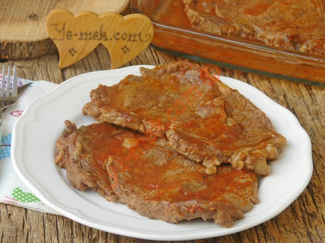Fırında Salçalı Biftek