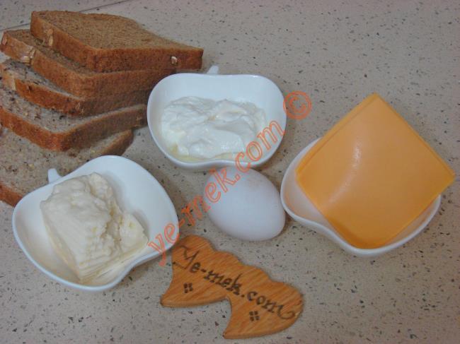Peynirli Ekmek Dilimleri - Yapılışı (1/12)