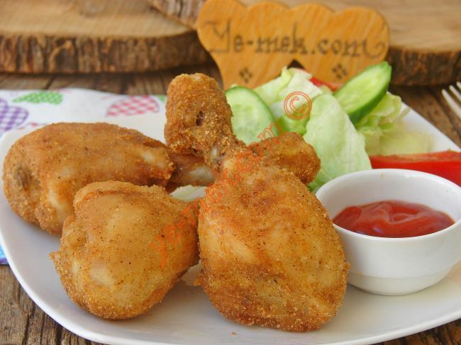 Galeta Unlu Tavuk But Kızartması