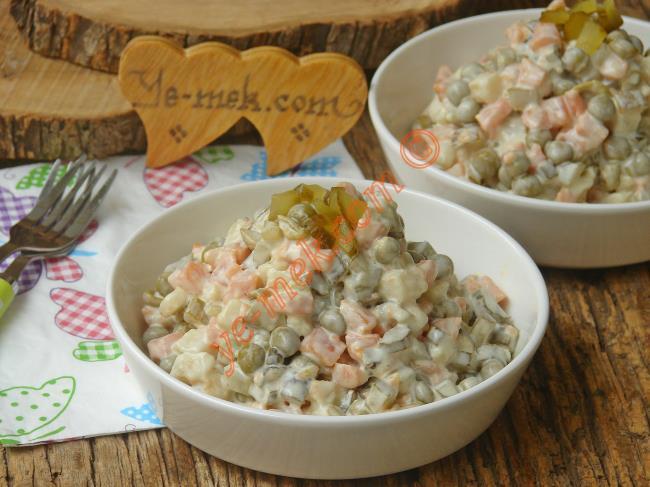 Tam Kıvamında, En Güzeli Böyle Olur : Rus Salatası