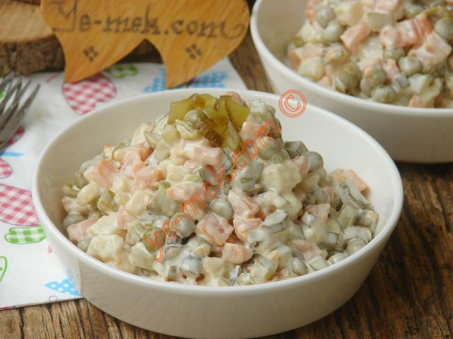 Rus Salatası Tarifi, Nasıl Yapılır? (Resimli) | Yemek ...