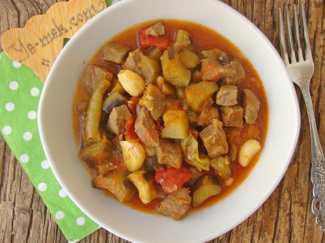 Fırında Etli Patlıcan Kebabı Nasıl Yapılır Video 25