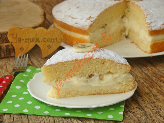 Puf Puf Yumuşak Keki, Tam Kıvamında Muhallebisiyle : Alman Pastası
