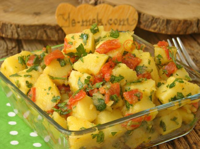 Hazır Közlenmiş Patlıcan Salatası Tarifi