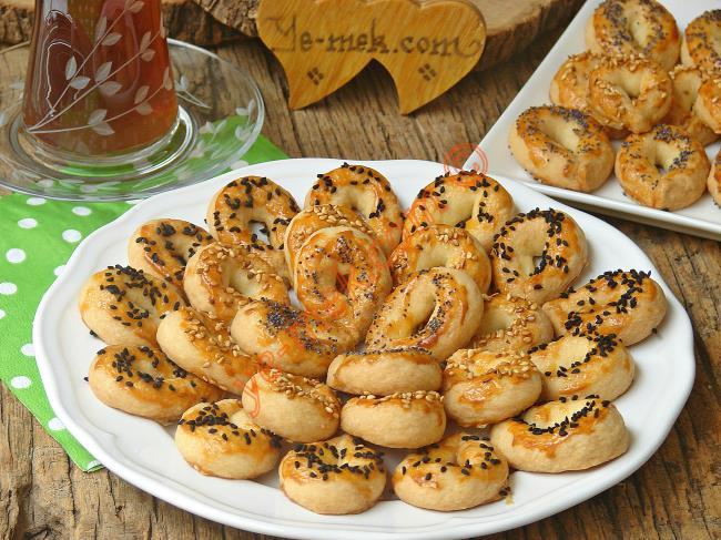 Pastane Usulü Portakallı Şam Kurabiyesi