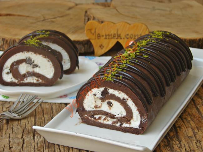 Minik Porsiyonluk Rulo Pasta Tarifi