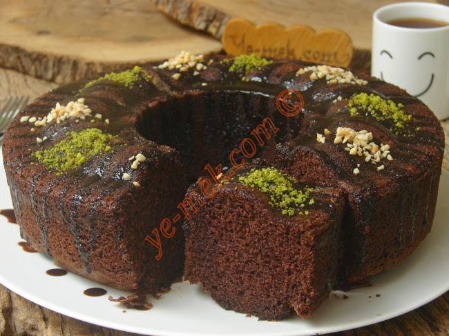 Kuru Üzümlü Kakaolu Kek Tarifi