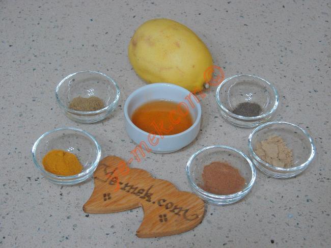 Öksürük Kesen Ballı Baharatlı Kür Malzemeleri