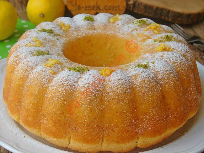 Limonlu Pamuk Kek Tarifi Nasıl Yapılır Resimli Yemek Tarifleri