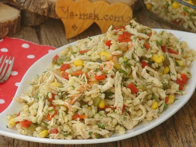 Yoğurtsuz Kuskus Salatası Tarifi