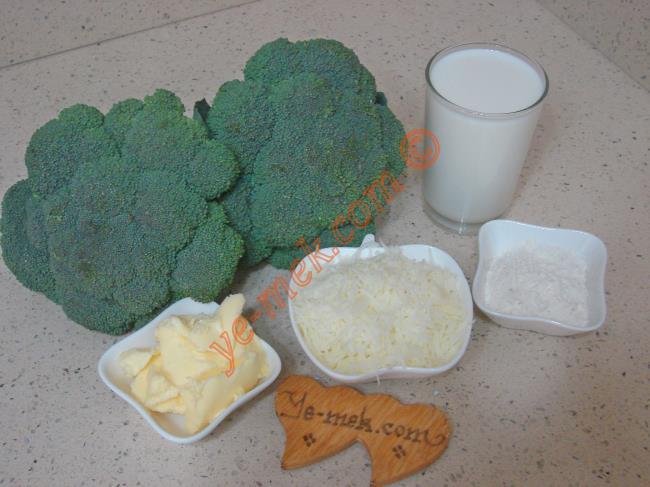 Beşamel Soslu Brokoli Yemeği - Yapılışı (1/16)