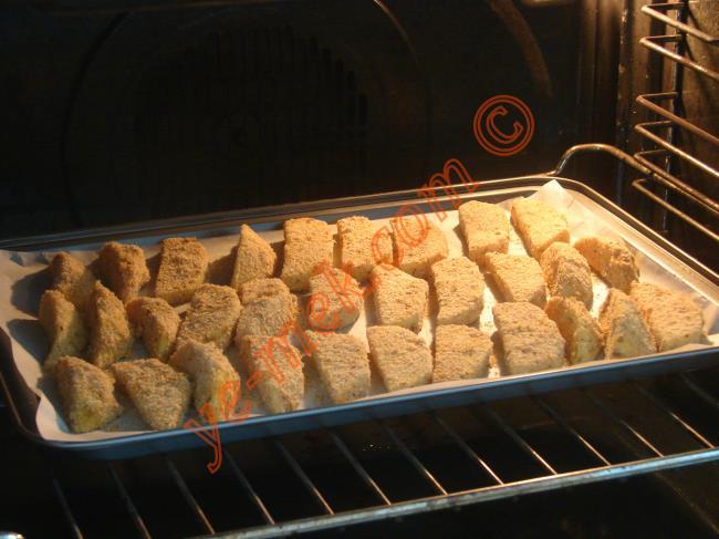Fırında Galeta Unlu Çıtır Patates