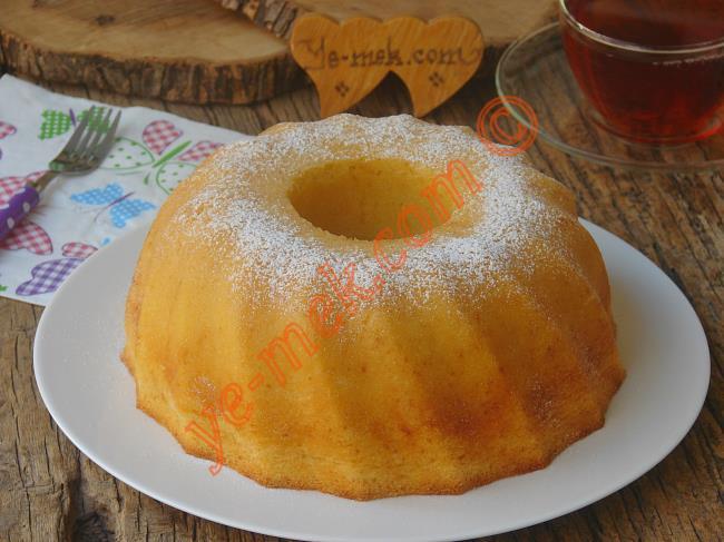 Krem Şantili Kek Pasta Tarifleri