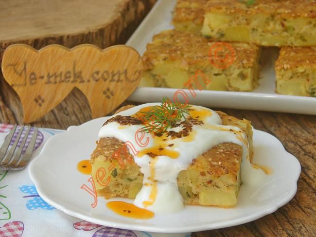 Börek Tadında, Muhteşem Lezzet : Patatesli Tuzlu Kek
