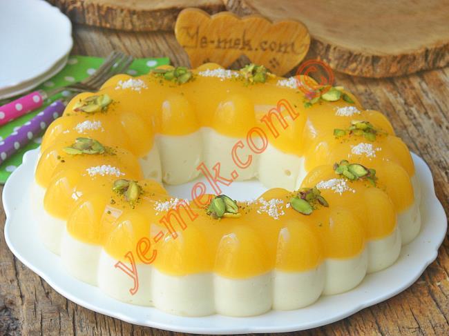 Portakallı Prenses Tacı Tatlısı