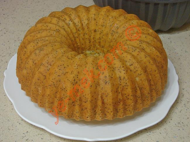 Haşhaşlı Limonlu Kek