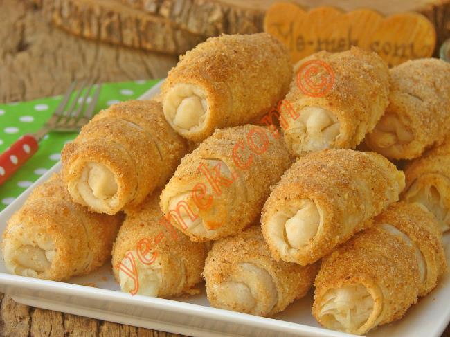 Kat Kat Nefis Bir Börek : Hazır Yufkadan Peynirli Kruvasan Börek