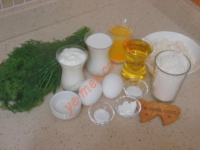 Mayasız Dereotlu Poğaça İçin Gerekli Malzemeler :  <ul> <li>1 çay bardağı eritilmiş tereyağı</li>         <li>1 çay bardağı sıvıyağ</li>         <li>1 çay bardağı süt</li> <li>1 çay bardağı yoğurt</li>         <li>2 adet yumurta (1 tane sarısı üzerine)</li> <li>1 çay kaşığı kabartma tozu</li> <li>1 çay kaşığı dolusu karbonat</li> <li>1 yemek kaşığı toz şeker</li>         <li>1 tatlı kaşığı tuz</li> <li>Yarım demet dereotu</li>         <li>4 su bardağı un</li> <li><strong>İçi İçin:</strong></li> <li>Beyaz peynir ya da lor peynir</li> </ul>