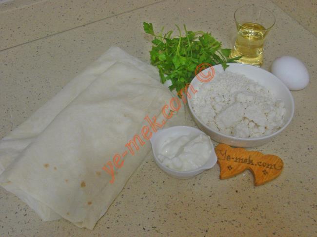 Peynirli Zarf Böreği - Yapılışı (1/20)