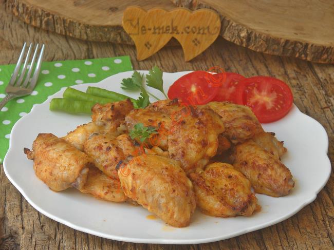Mangal Tadında, Lezzetli Ve Pratik : Fırında Soslu Tavuk Kanat