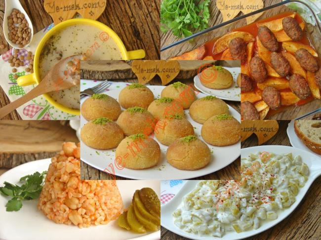 Ramazan 2019 Kolay İftar Yemekleri Menüsü