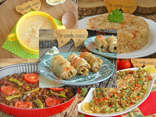 Ramazan 2017 Değişik İftar Yemekleri Menüsü