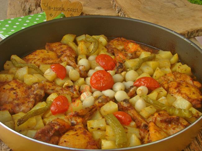 Tavuk Şiş'den Lezzetli Fırın Yemeği