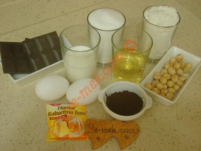 Fındıklı Çikolatalı Kek - Yapılışı (1/16)