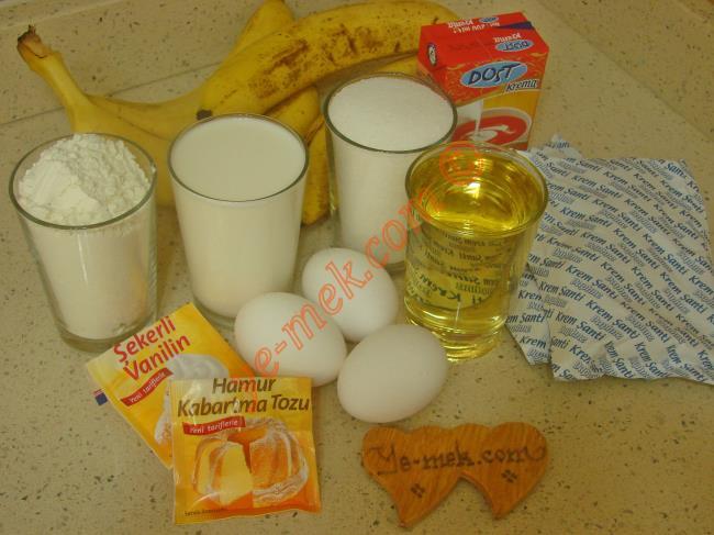 Sade Köstebek Pasta Malzemeleri