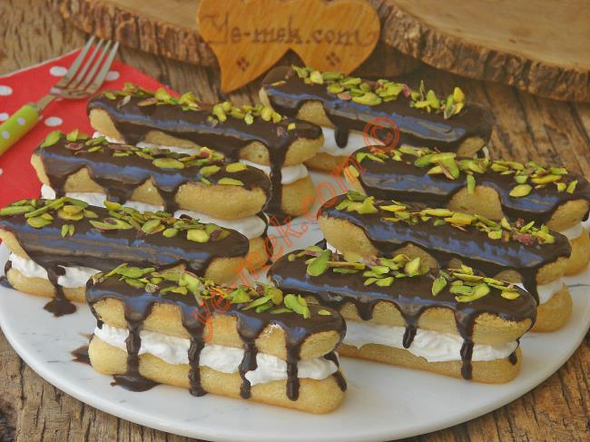 Şerbetli Kedidili Pastası