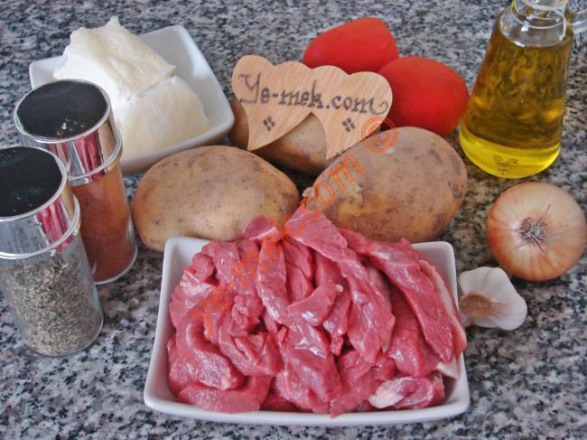 Bodrum Kebabı Malzemeleri
