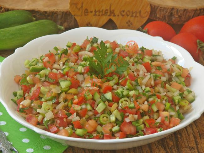 Cevizli Kaşık Salatası