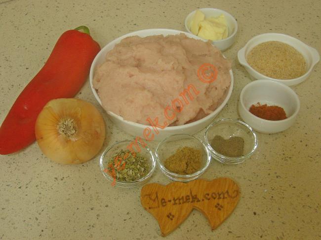 Mercan Kebabı Malzemeleri