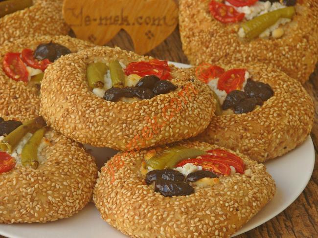 Susamlı Simit Tadında, Enfes Bir Lezzet : Pizza Poğaça