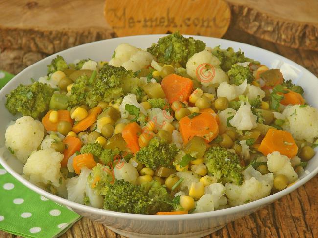 Karnabahar Salatası Tarifi Oktay Usta