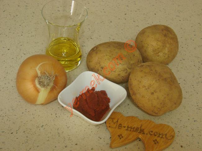 Patates Yemeği Malzemeleri